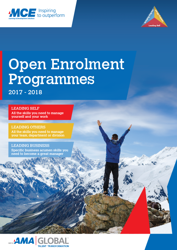 New Open Enrolment Programmes Brochure