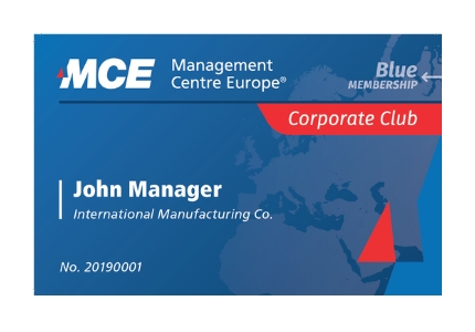 blue membership corporate club