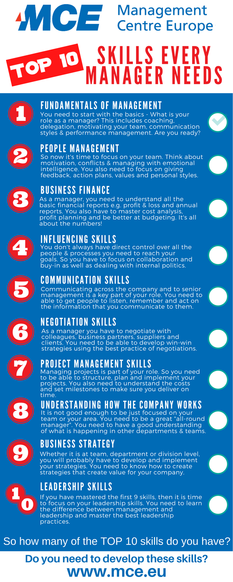 10 Key Skills Every Manager Needs MCE
