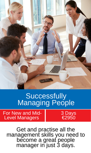 Successfully Managing People Programme Banner