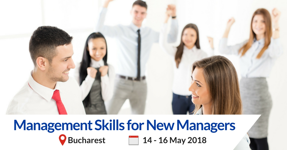Management skills for new managers bucharest training