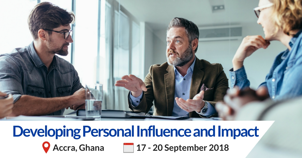 Developing Personal Influence training in Accra