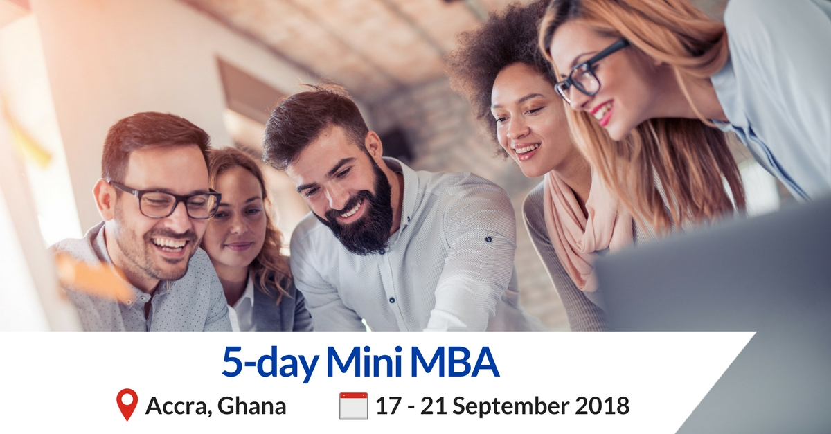 Mini MBA business training in Accra