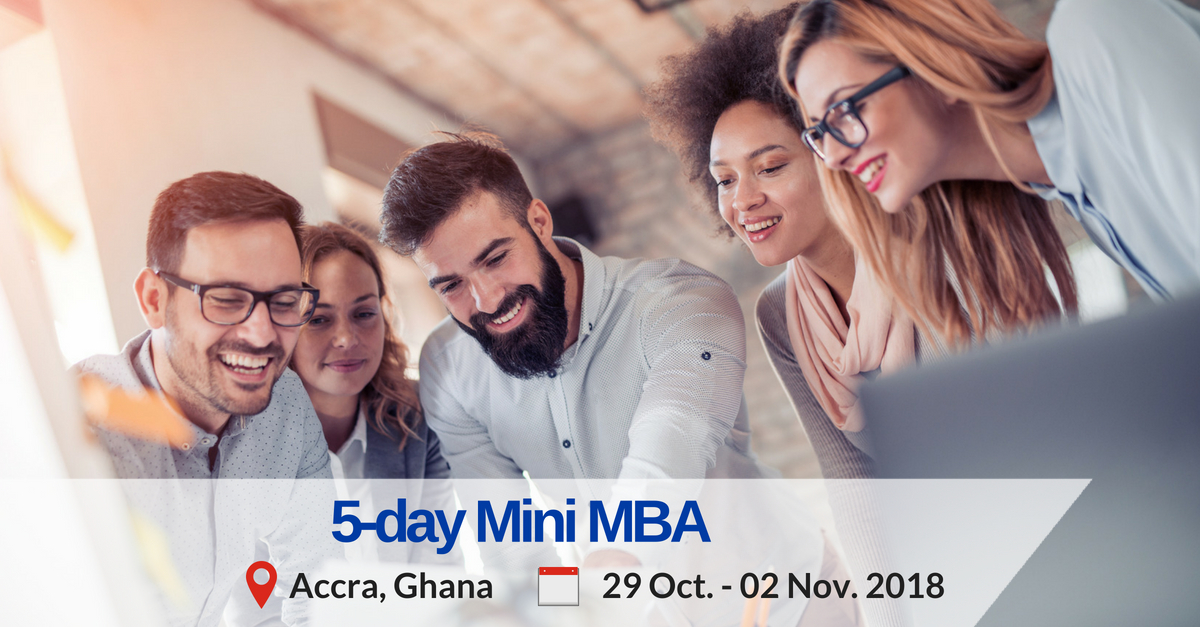 5-day mini mba training programme in Accra Ghana