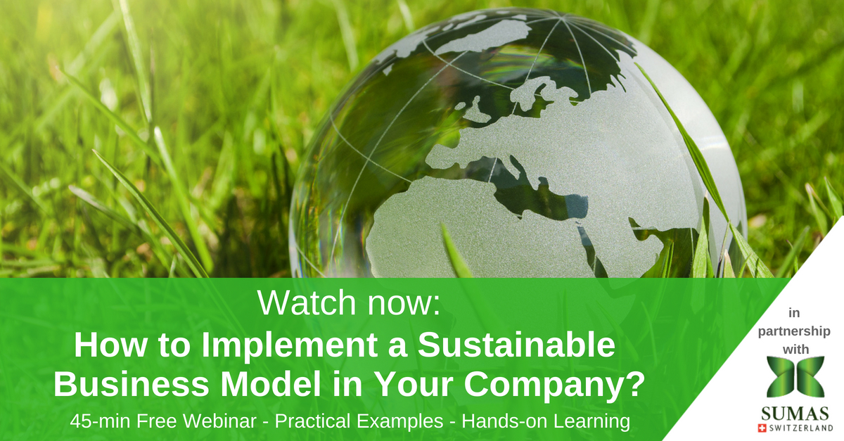 watch now sustainability management webinar
