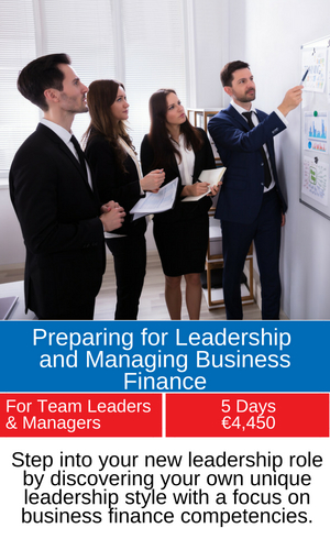 New managers and business finance training programme