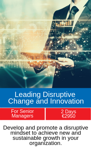 leading disruptive change training programme