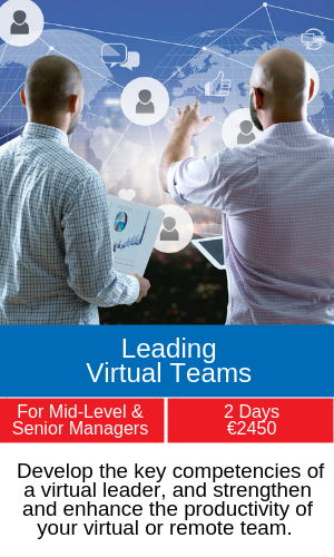 leading virtual teams training programme