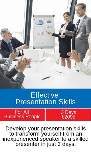 presentation skills training programme