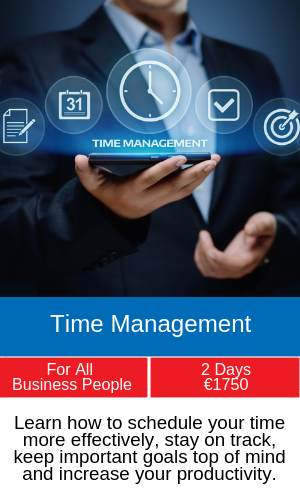 time management training programme