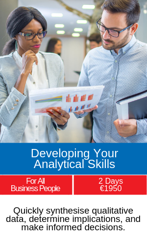 developing your analytical skills training programme