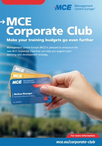MCE corporate club cover