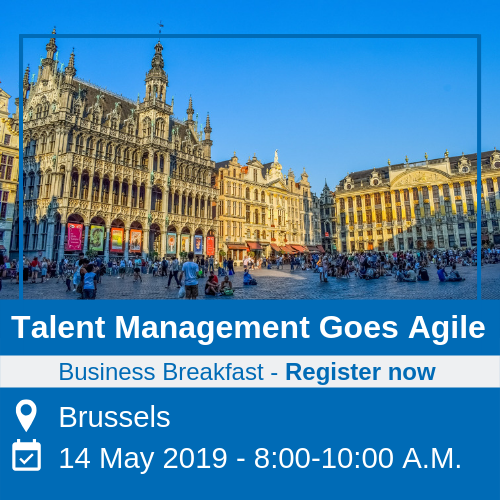 Business Breakfast Talent Management Goes Agile Brussels 14 May 2019