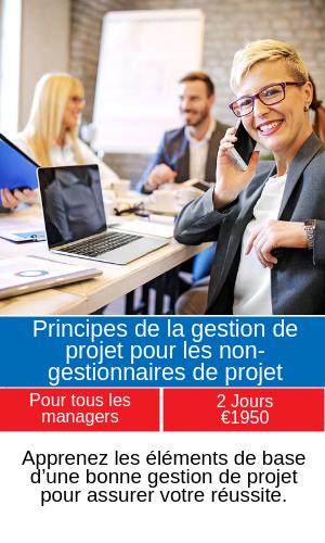 Principes de la gestion de projet pour les non-gestionnaires de projet