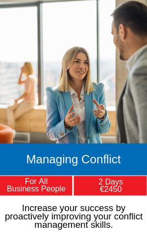 managing conflic training course