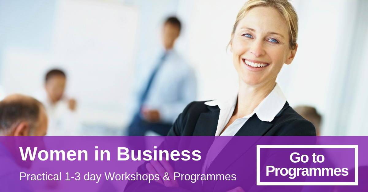 women in business traininig