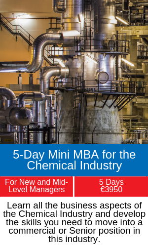 5-Day Mini MBA for the Chemical Industry training programme