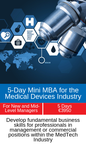 5-Day Mini MBA for the Medical Devices Industry training programme5-Day Mini MBA for the Medical Devices Industry training programme