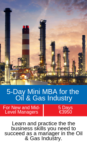 5-Day Mini MBA for the Oil & Gas Industry training programme
