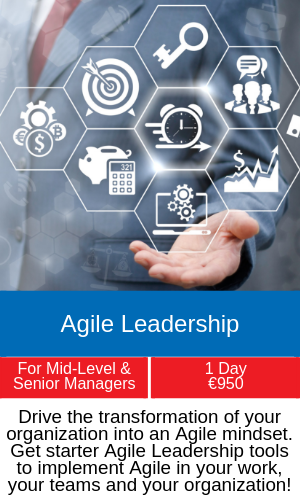 agile leadership training programme