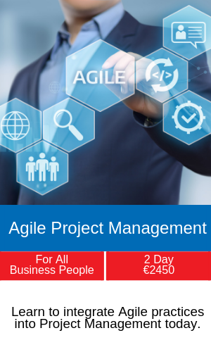 agile project management training programme