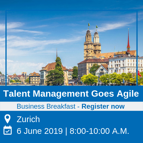 business breakfast event - talent management in zurich