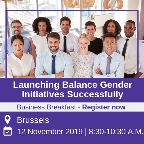 business event - gender balance initiatives in brussels