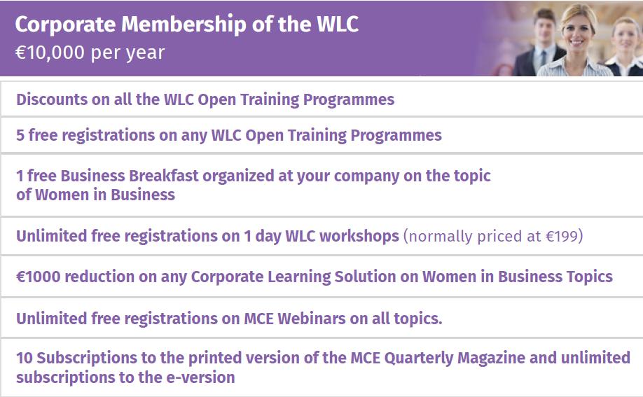 corporate wlc membership