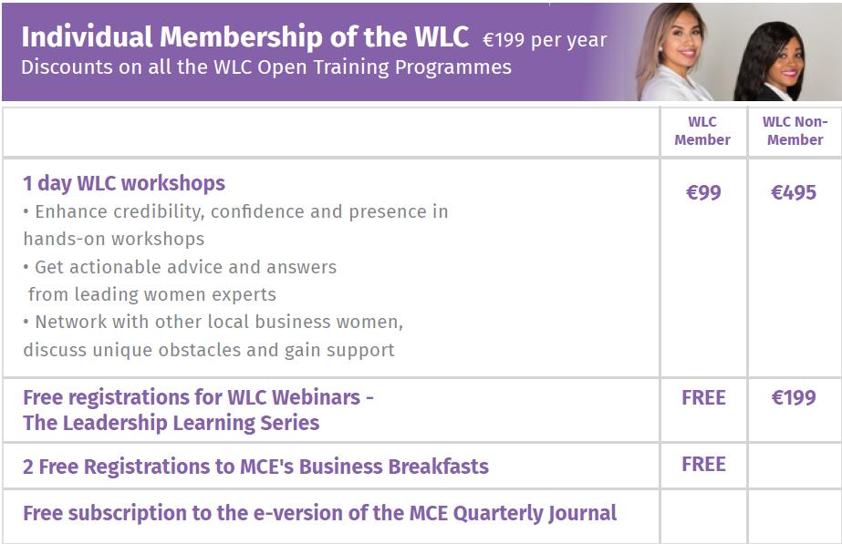 individual wlc membership