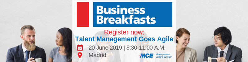 MCE business breakfast event in Madrid