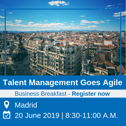 business breakfast event - talent management goes agile in madrid