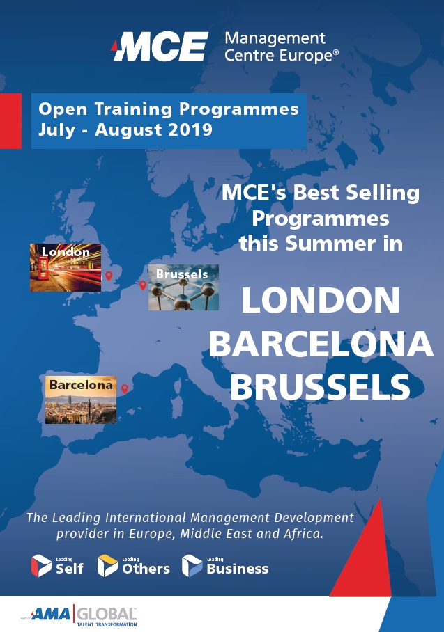 mce programmes in july 2019 cover