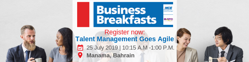 business breakfast event in manama, bahrain