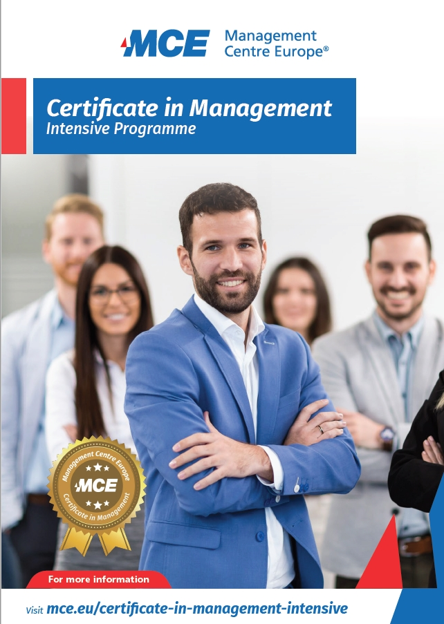 mce certificate in management cover
