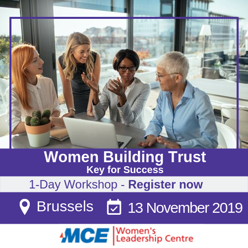 women building trust workshop for women in brussels