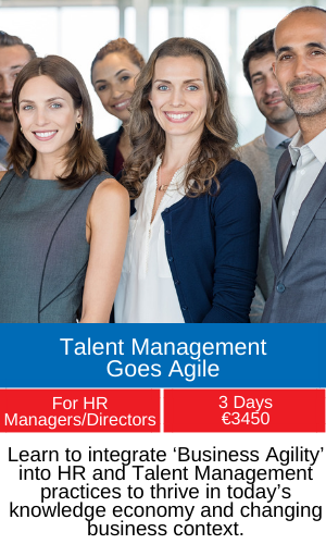 talent management goes agile training program
