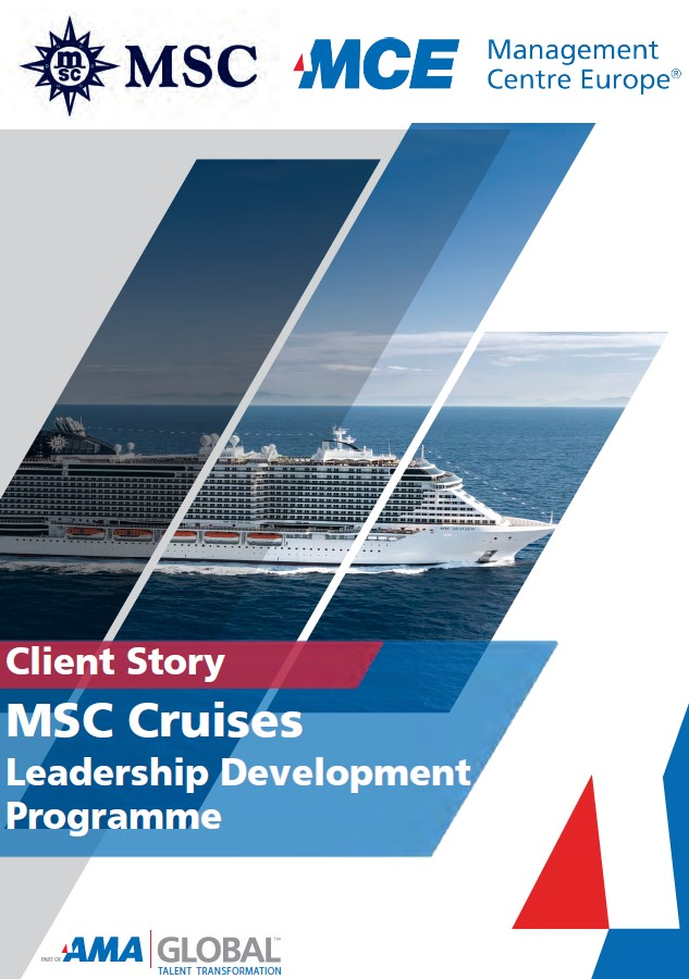 MSC Cruises : Client Story – Implementing a business-wide Leadership Development Programme