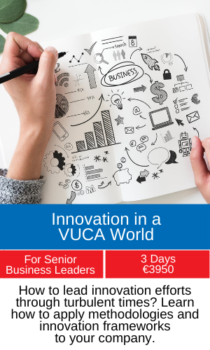 innovation in a vuca world training programme