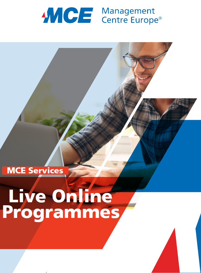 Live Online Programmes: new brochure available