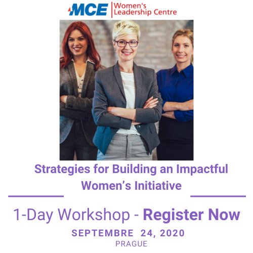 Register now: Strategies for Building an Impactful Women's Initiative (Prague)