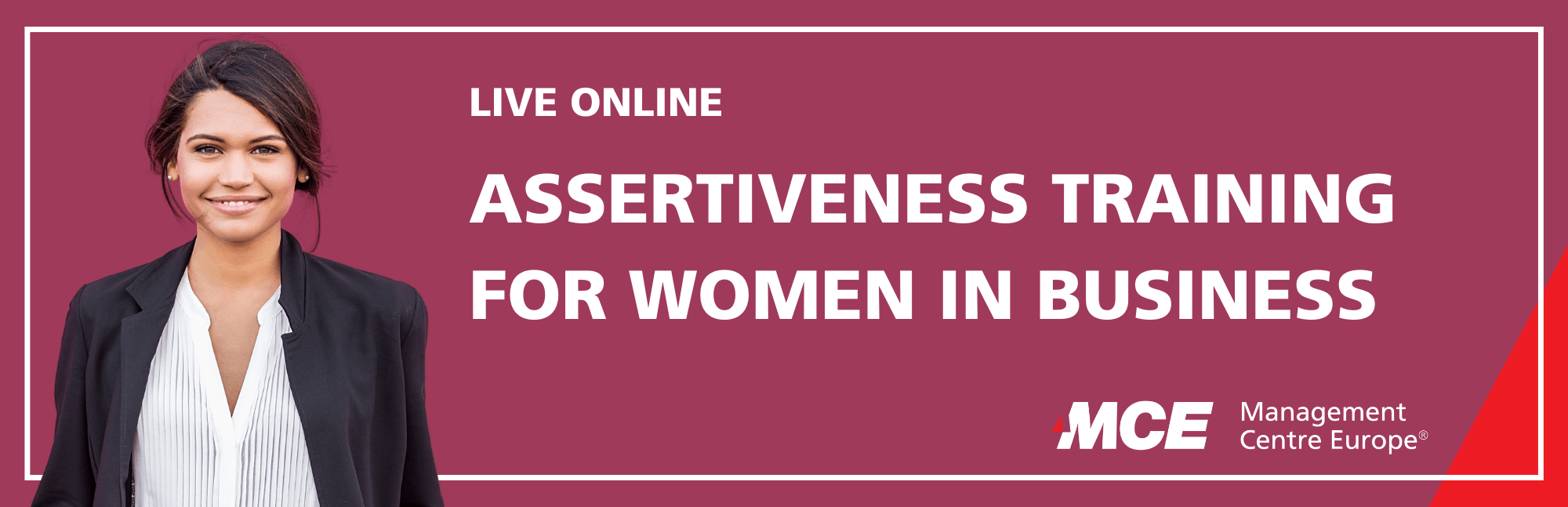Event Assertiveness Training for Women in Business