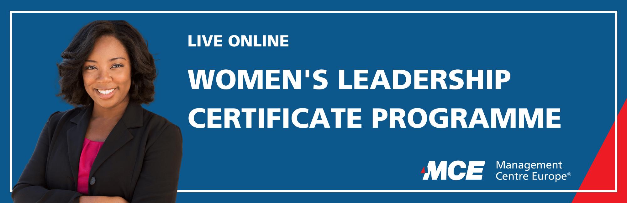 Event Women's Leadership Certificate Programme