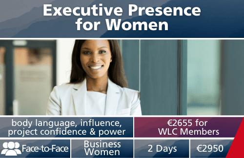 Executive Presence for Women