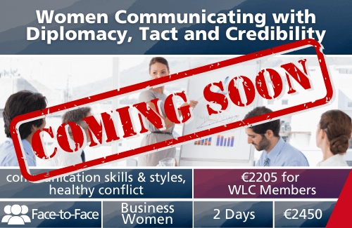 Women Communicating with Diplomacy, Tact and Credibility