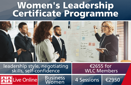 Women's Leadership Certificate Programme Live Online