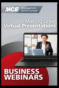 MCE Business Webinars - Making Great Virtual Presentations