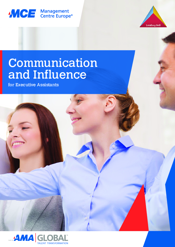 Communication and Influence for Executive Assistants | MCE Training