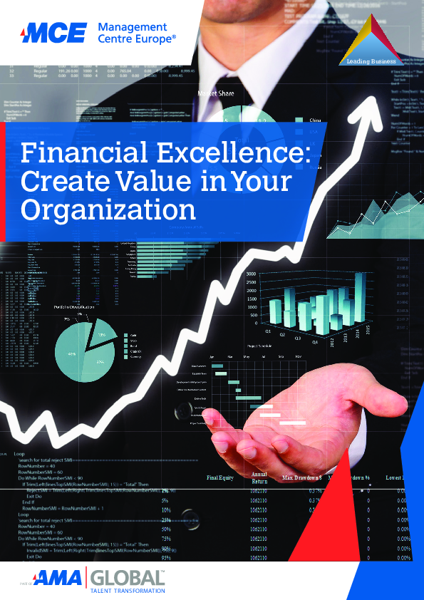 Financial excellence create value in your organization mce programme brochure pdf fandeluxe Gallery